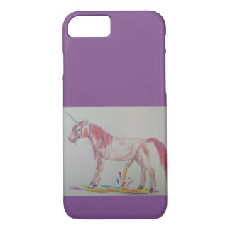 Unicorn mobile phone covering iPhone 8/7 case