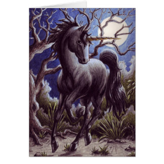 Unicorn Moon notecard