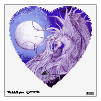 Unicorn Moon Wall Decal