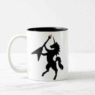 UNiCORN MUGS/STEINS Two-Tone Coffee Mug