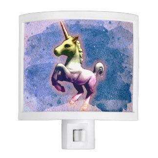 Unicorn Night Light (Burnt Blue)
