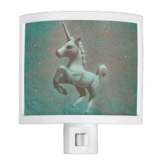 Unicorn Night Light (Teal Steel)