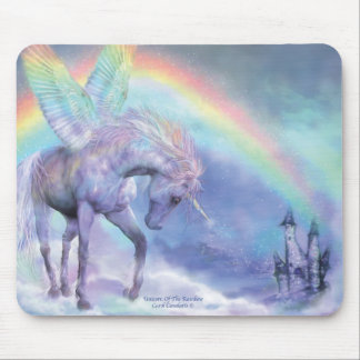 Unicorn Of The Rainbow Mousepad