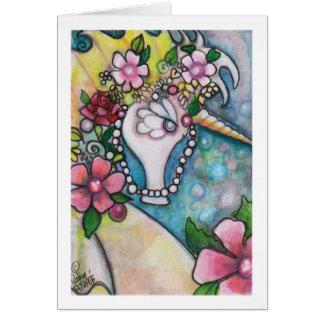 Unicorn of the Sea Card