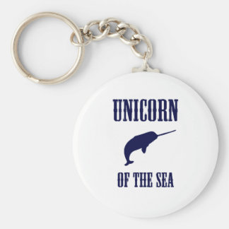 Unicorn of the Sea (Narwhal) Keychain