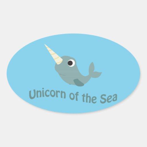 Unicorn of the Sea Stickers