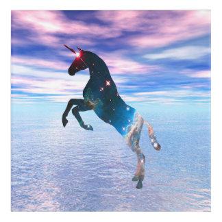 Unicorn of the stars acrylic print