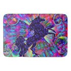 UNICORN OF THE UNIVERSE multicolored Bath Mat