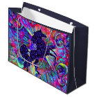 UNICORN OF THE UNIVERSE multicolored Large Gift Bag