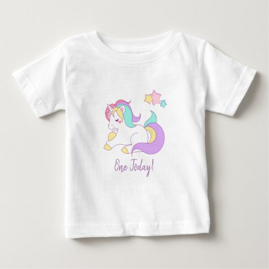 Unicorn one today t-shirt