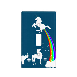 Unicorn origin light switch cover