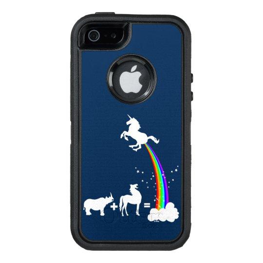 Unicorn origin OtterBox defender iPhone case