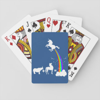 Unicorn origin playing cards