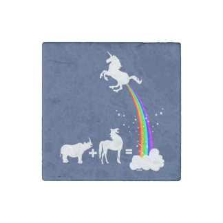 Unicorn origin stone magnets