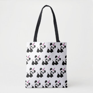 Unicorn Panda. The most magical of all. Tote Bag