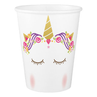 Unicorn Paper Cup
