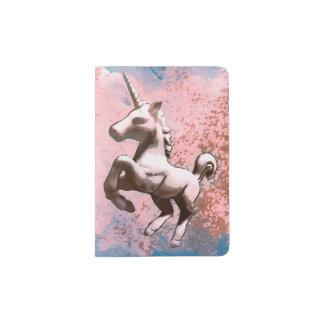 Unicorn Passport Holder Cover (Faded Sherbet)