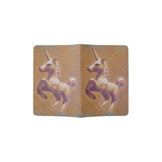 Unicorn Passport Holder Cover (Metal Lavender)