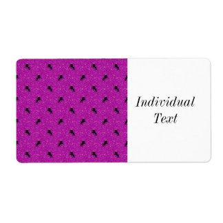 unicorn pattern pink
