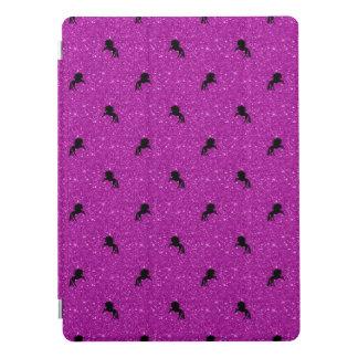 unicorn pattern pink iPad pro cover