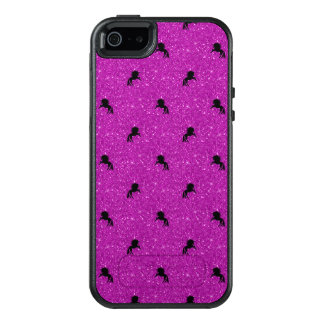 unicorn pattern pink OtterBox iPhone 5/5s/SE case