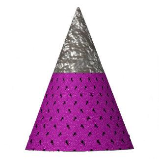 unicorn pattern pink party hat