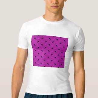 unicorn pattern pink t-shirt