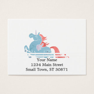 Unicorn Pegasus Business Card