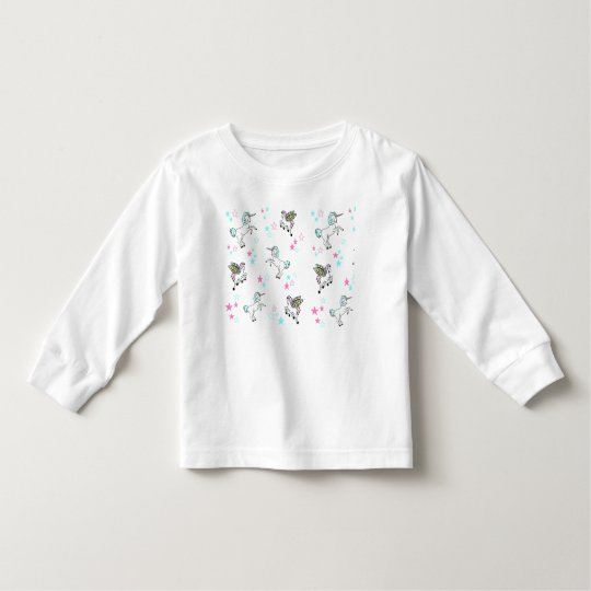 Unicorn Pegasus Toddler Long Sleeve Shirt