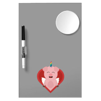 Unicorn Pig with Angelwings Z2h5i Dry-Erase Boards