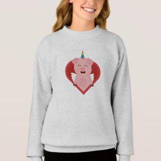 Unicorn Pig with Angelwings Z2h5i Sweatshirt