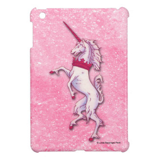 Unicorn Pink Faux Glitter Cover For The iPad Mini