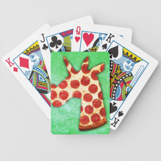 Unicorn Pizza Bicycle Playing Cards