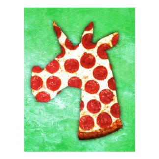 Unicorn Pizza Letterhead