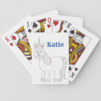 Unicorn Playing Cards for Girls