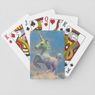 Unicorn Playing Cards Standard (Sandy Blue)