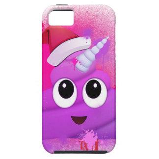 Unicorn Poop Santa Emoji Spray Paint iPhone 5 Cover