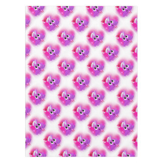 Unicorn Poop Santa Emoji Spray Paint Tablecloth