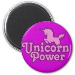 Unicorn Power! 2 Inch Round Magnet
