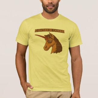 UNICORN PREFERS TANNING! T-Shirt