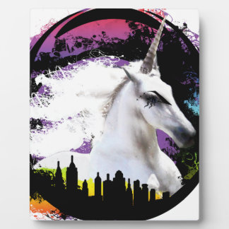Unicorn pride plaque