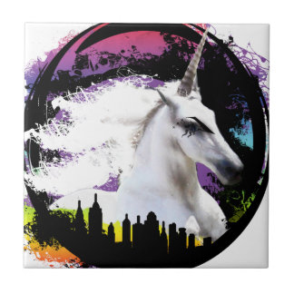 Unicorn pride tile
