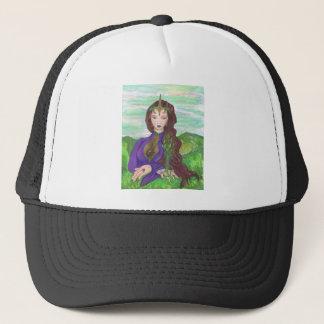 Unicorn Princess Healing Earth Plant Growing Trucker Hat