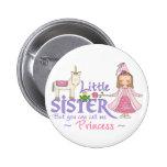 Unicorn Princess Little Sister Buttons