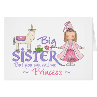 Unicorn Princess Note Card