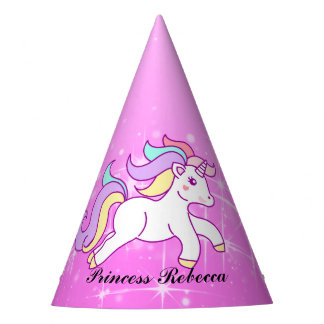 Unicorn Princess Party Hat