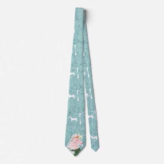 Unicorn Queen Victoria Tie