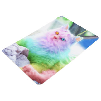 Unicorn Rainbow Cat Floor Mat