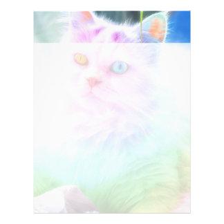 Unicorn Rainbow Cat Letterhead