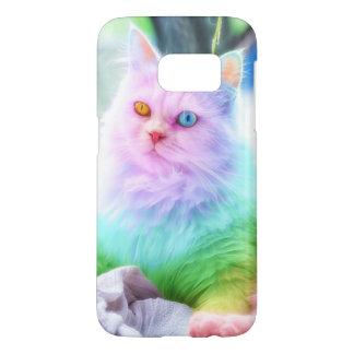 Unicorn Rainbow Cat Samsung Galaxy S7 Case